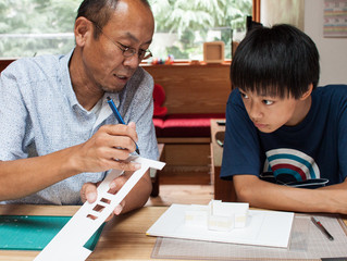 特集:ファニエラ&佐賀・高橋設計室コラボ企画「建築家とつくる模型」