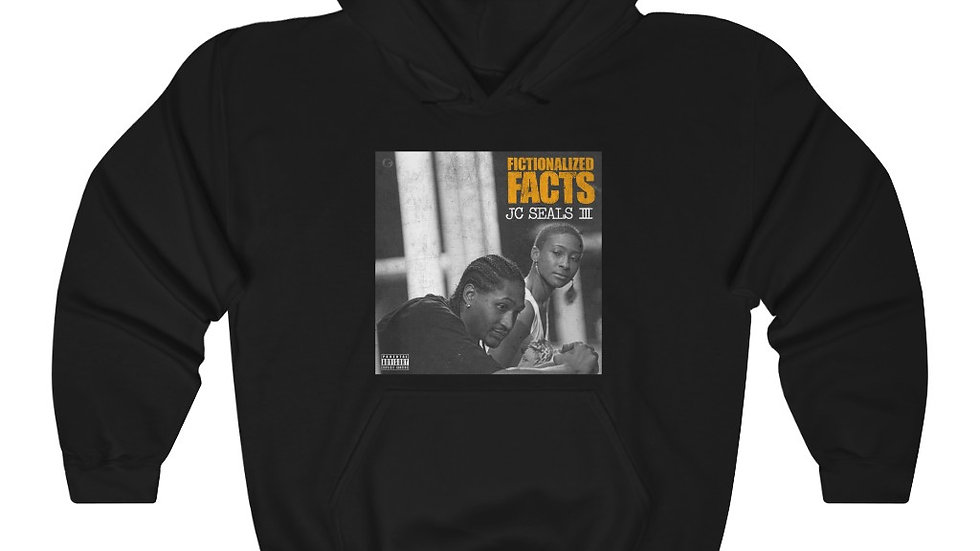 Fictionalized Facts Hooded Sweatshirt