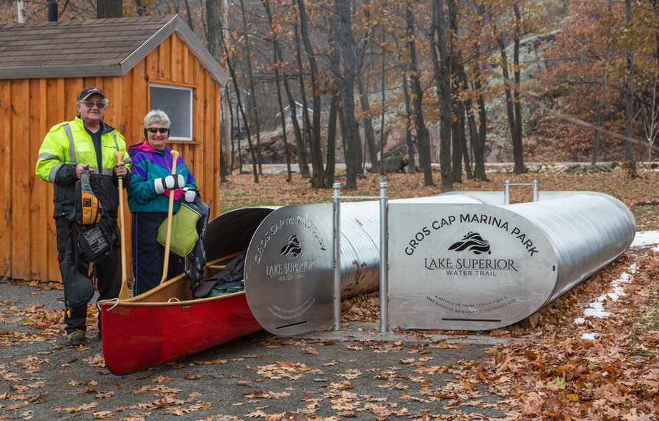 Lake Superior Water Trail Canoe Lockers