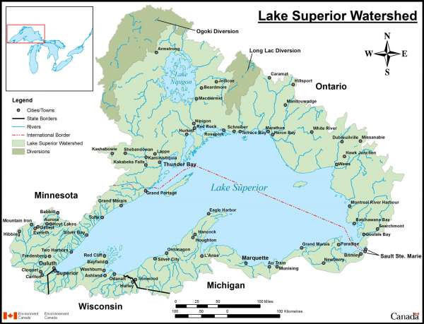 The Lake Superior Watershed