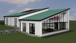 Zinc Roof - Glazing