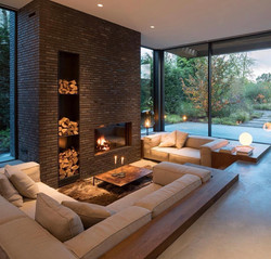 Recessed Living Room
