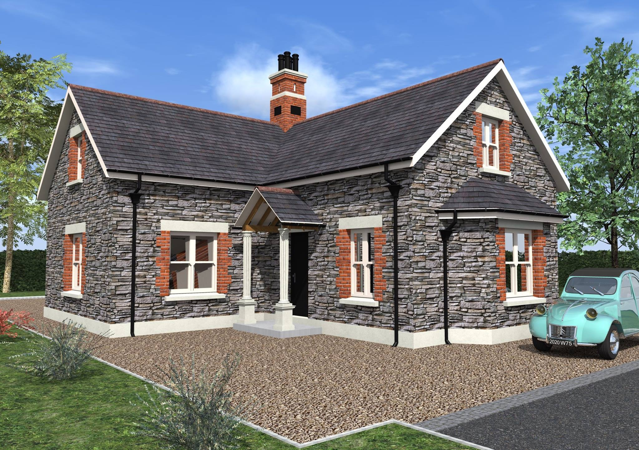 Stone Gate Lodge - 3D