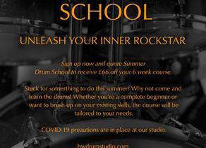 Summer Drum School - London Drum Teacher