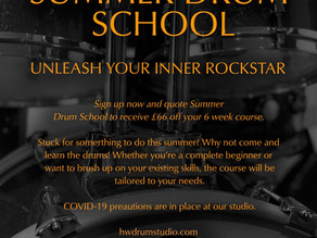 Summer Drum School - London Drum Teacher