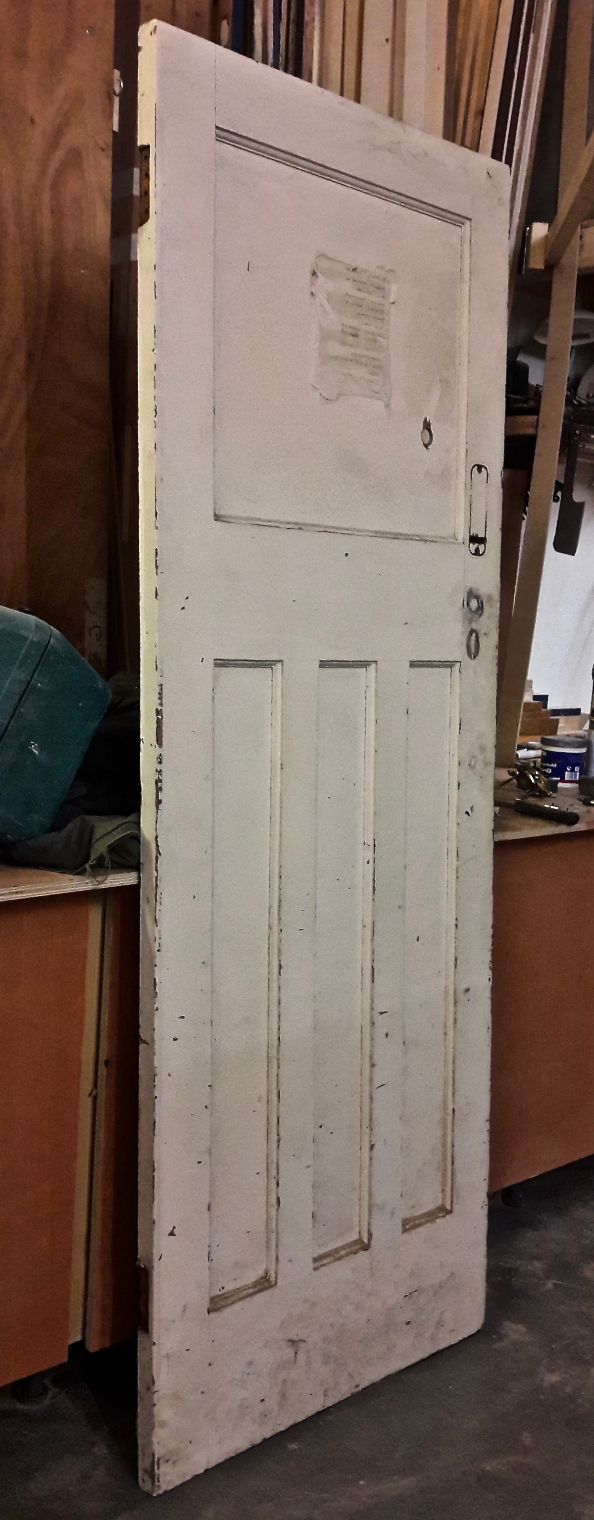 Stripped door