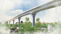 Cline Avenue Bridge – View 4