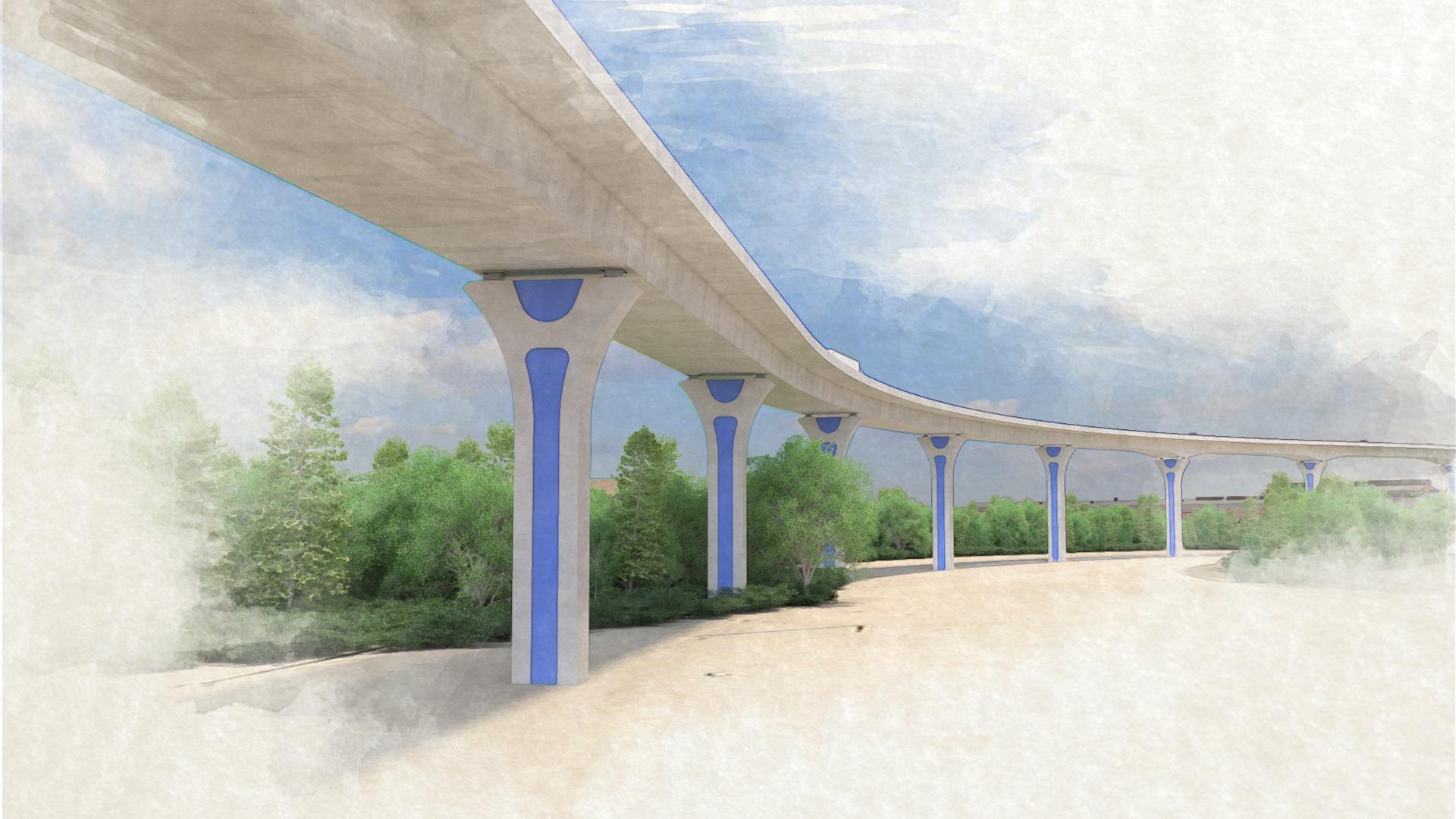 Cline Avenue Bridge – View 1