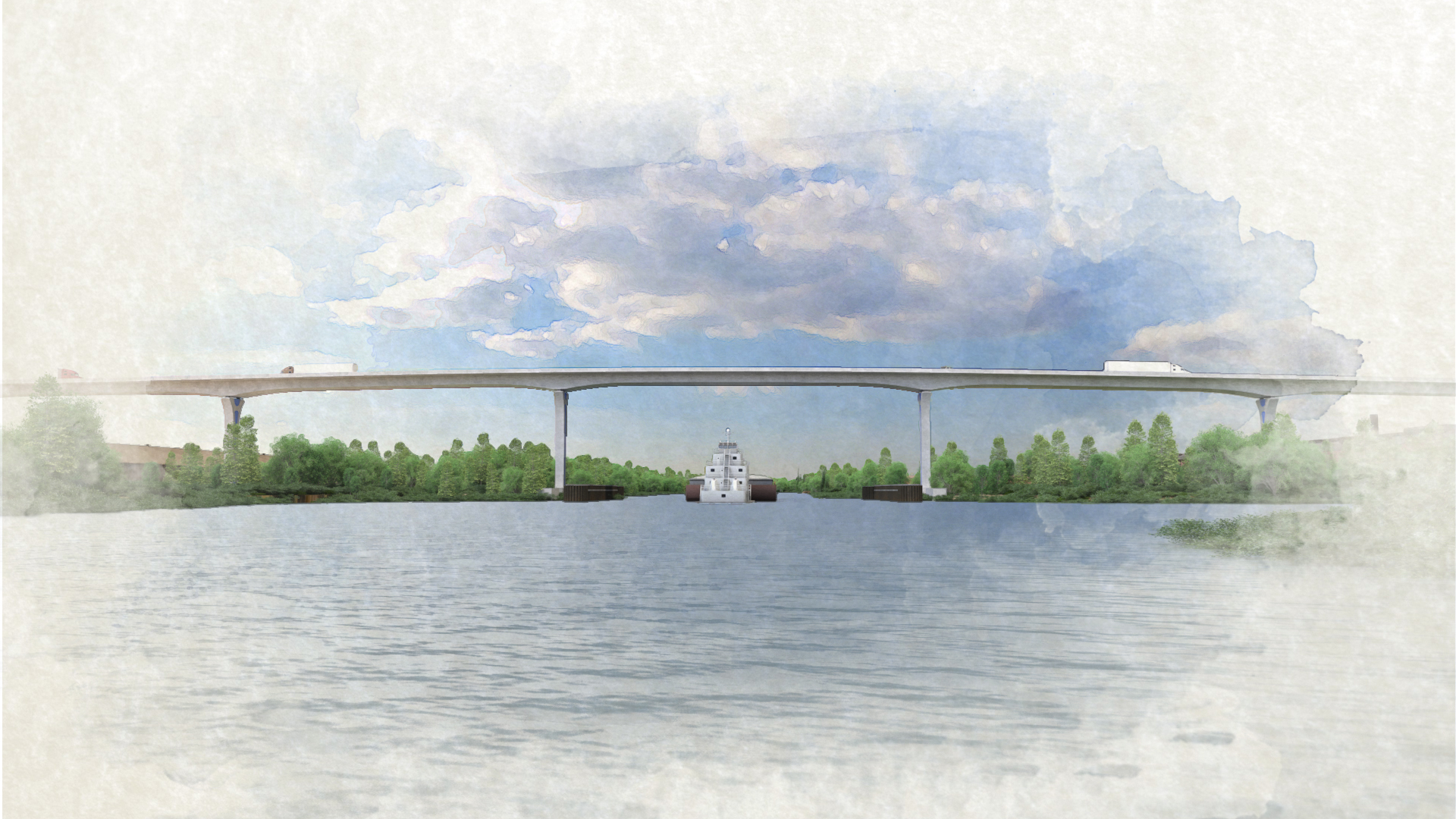 Cline Avenue Bridge – View 5