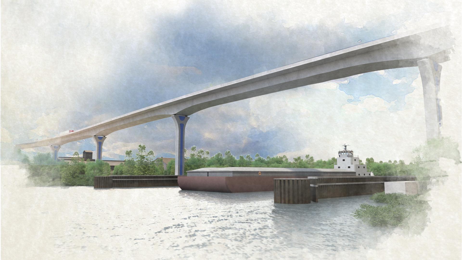 Cline Avenue Bridge – View 2