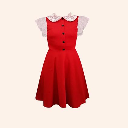 Vestido Sabrina Spellman Red