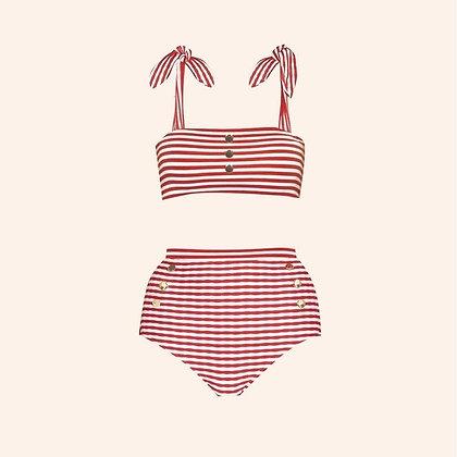 Bikini Ice-cream red