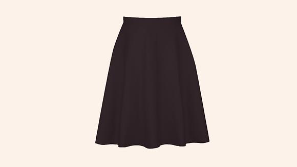 Falda Chalet black