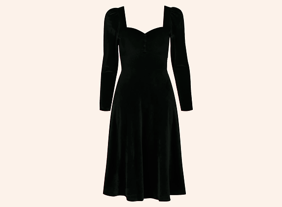 Vestido Velvet Aurora Black