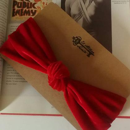 Cintillo nudo Vintage terciopelo con Knot