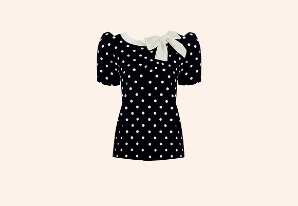 Jersey Lolita black short sleeve