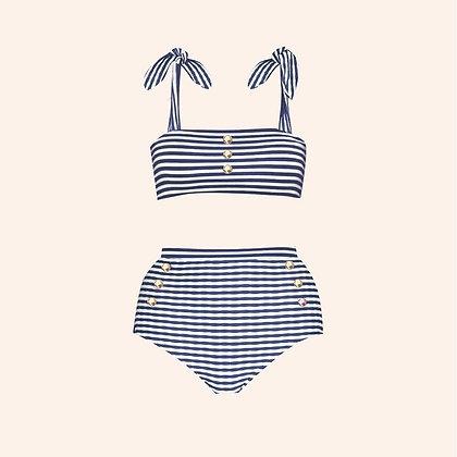 Bikini Ice-cream navy blue