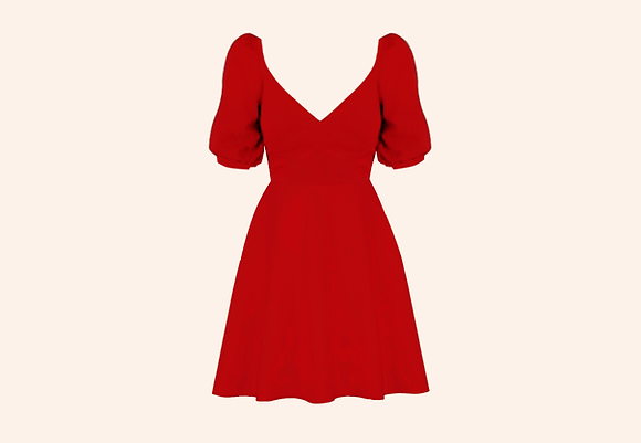 Vestido Ipswich Red
