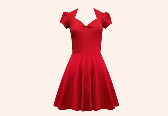 Vestido Beloved Red