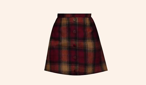 Minifalda Tartan