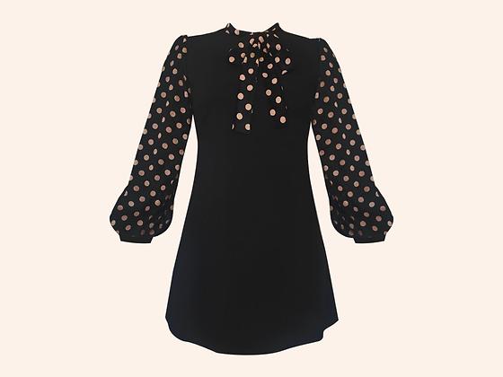 Vestido Velvet Paris Dots