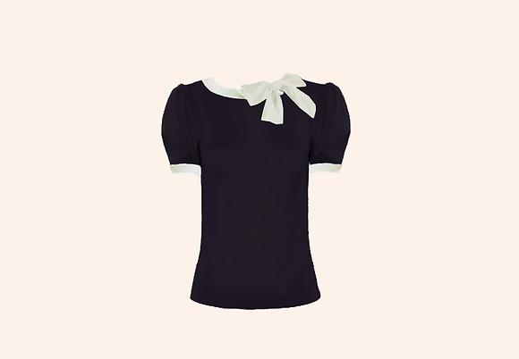 Lolita Black & white short sleeve