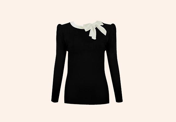 Jersey Lolita black and white
