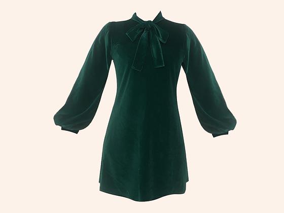 Vestido Velvet Moscou Emerald