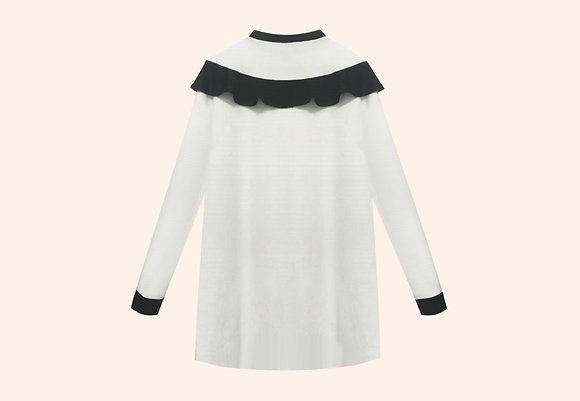 Oversize minidress