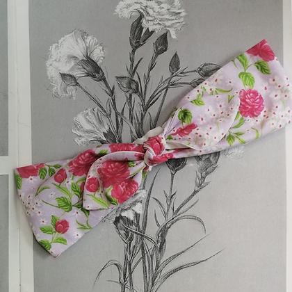 Cintillo Vintage  con bowtie