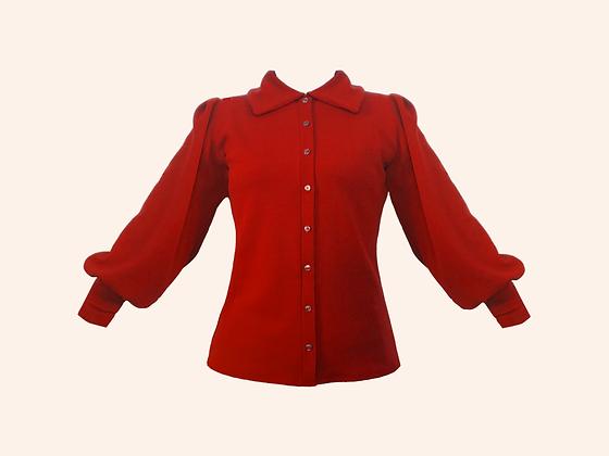 Blusa Scotland Red