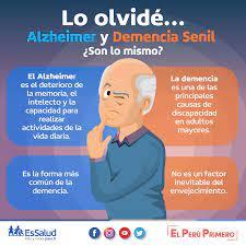 Demencia senil o Alzheimer