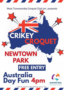 West Toowoomba Croquet Club Australia Day Celebrations