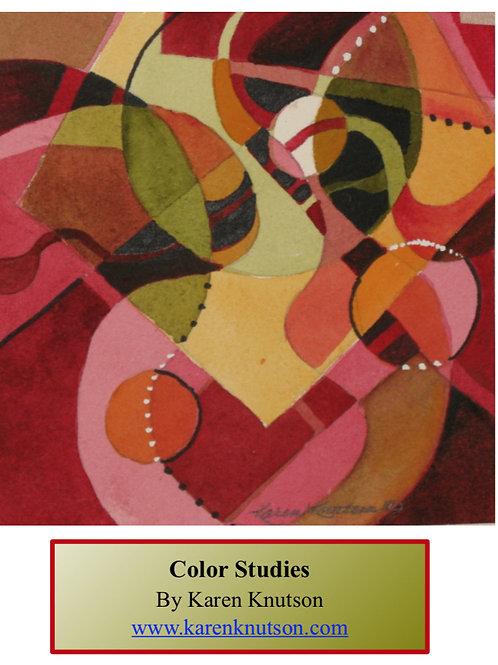 Color Study Booklet PDF
