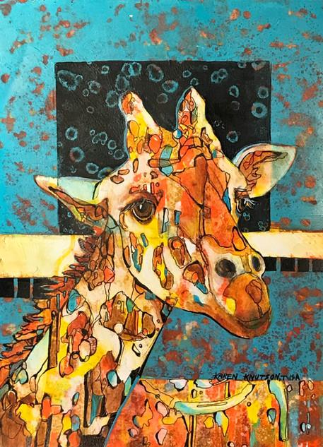 Gary, the Giraffe