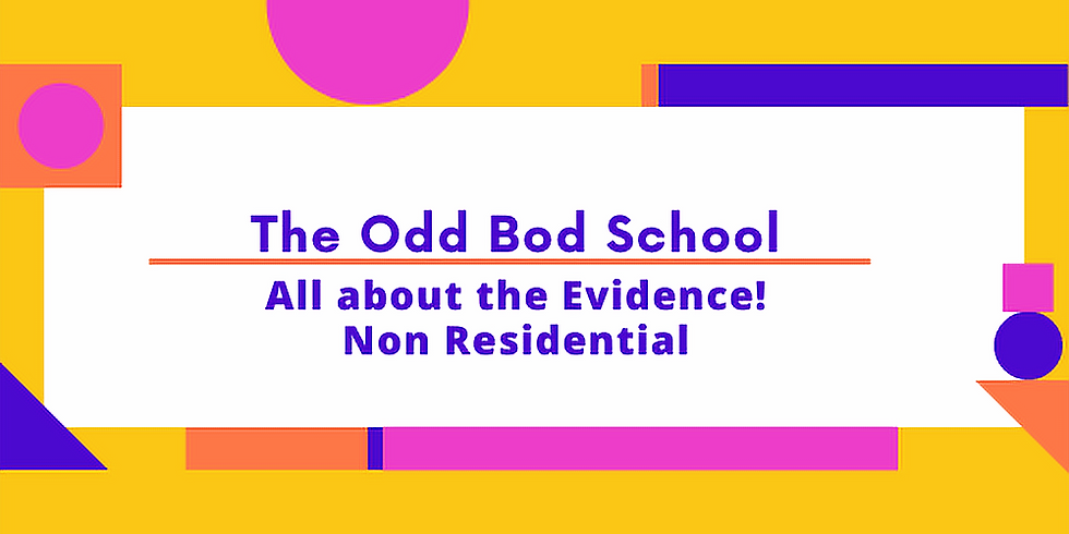 All about the Evidence! (Non-Residential)
