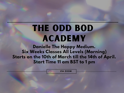 The Odd Bod Academy Six Weeks Classes (All levels)