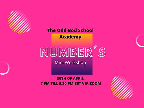 Mini Workshop on Numbers BST
