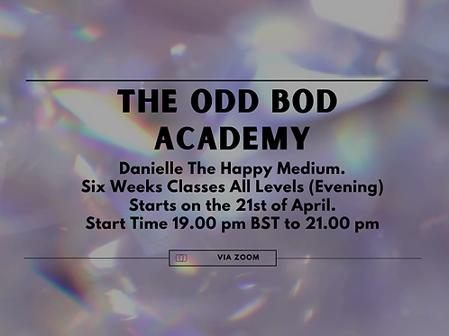 The Odd Bod Academy Six Weeks Classes (All levels) BST