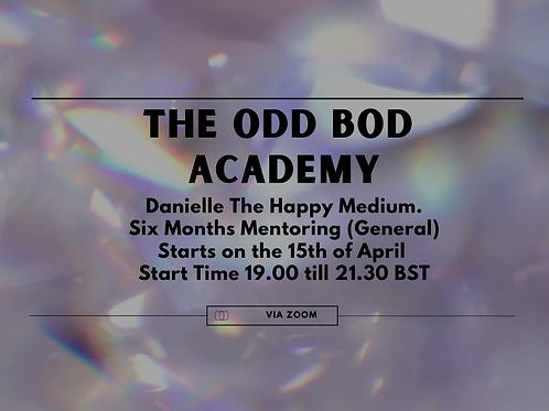 The Odd Bod Academy Six Months (General) BST