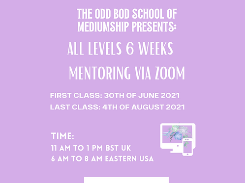 The Odd Bod Academy Six Weeks (All Levels) BST