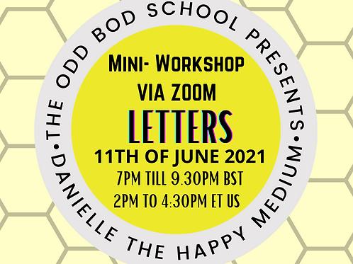 Mini Workshop on Letter's BST