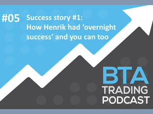 #109: [PODCAST] SUCCESS STORY #1 – HOW HENRIK HAD 'OVERNIGHT SUCCESS' AND YOU CAN TOO