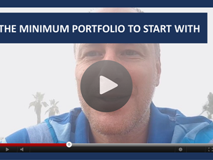 #112: [VIDEO] THE MINIMUM PORTFOLIO TO START WITH