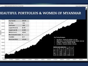 #123: BEAUTIFUL PORTFOLIOS & WOMEN OF MYANMAR