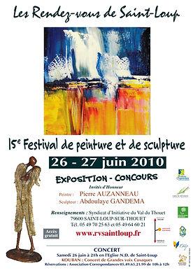 aintloup I festival I peinture I 2010