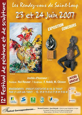 rendezvoussaintloup I festival I peinture I2007