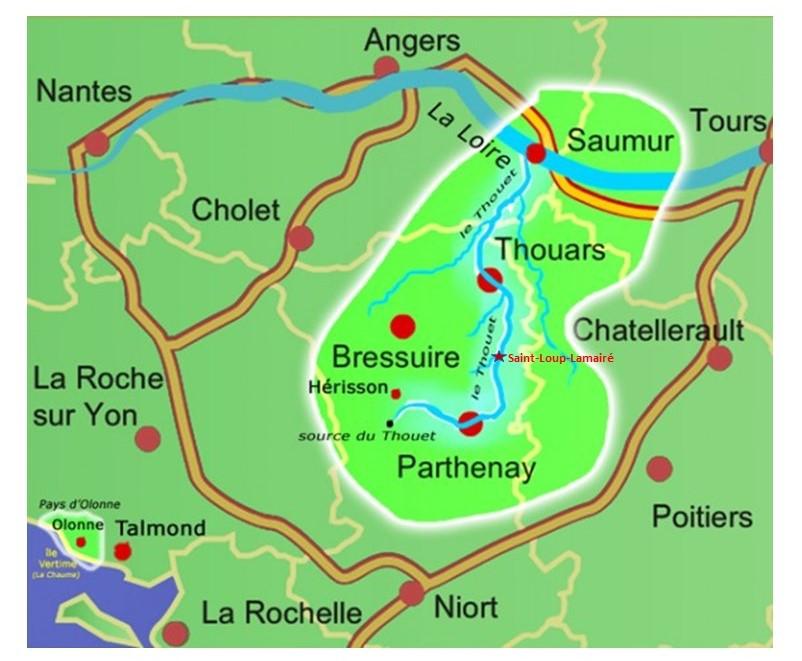 Entre Loire et Marais Poitevin, les rendezvoussaintloup