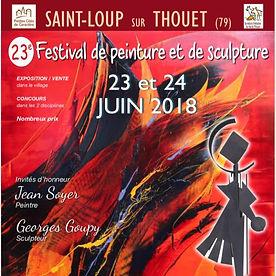 aintloup I festival I peinture I 2018