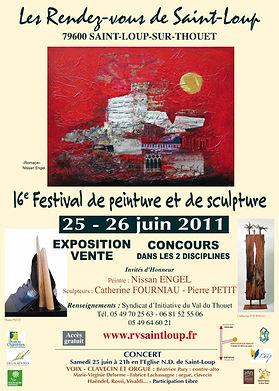 aintloup I festival I peinture I 2011